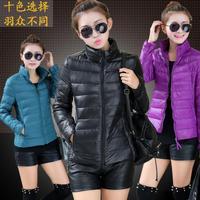 2014-new plus size X-4XL ladies collar slim short down-padded coat authentic coat women wholesale
