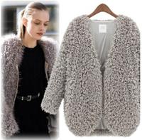 2014 European Style  of  New Lambs Wool's Shoulder Short Coat