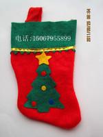 20pcs/lot gift small socks candy bag gift bags Christmas decoration christmas tree small socks