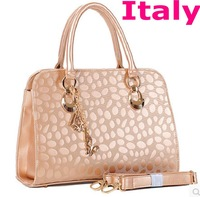 Christmas Italy women leopard handbag portable shoulder Commerce Banquet lady handbag Quilted Threads handbags