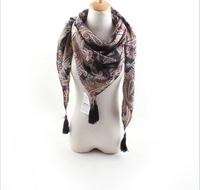 Korea cashmere scarf 2014 new European and American big Phoenix legend cotton scarf winter scarf shawl air conditioning