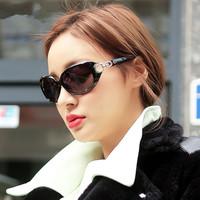 S - 122 ms taobao hot polarized sunglasses Double loop Star fashion retro glasses