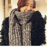 Women New Fashion Knitted Adult Cotton Woolen Unisex Autumn Winter Scarves Scarf Wraps Envoltorios Bufandas Hijab 1SC884