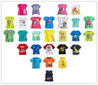 Children T-shirt boys Tees Girls Short sleeve shirts Summer Kids Tops Cartoon Baby Girl Clothing Cotton Top Quality
