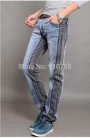 2015 Free shipping  New design skinny mens jeans colors Slim Straight jeans male men's jeans 100 original men pants 1018