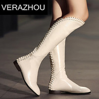 2014 Autumn Winter Ankle boots heels Genuine Leather First layer of leather Suede Shoes woman Platform Fashion High Quality