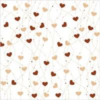 100pcs 33cm printed hearts coffe tissue napkins paper serviettes wedding bridal shower tableware valentine party decoartion