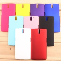 10pcs/lot High quality hard pc cover protective case for one plus one free shipping 9 colors wholesale