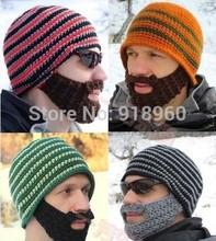 winter ski mask cap winter beard hat womens hats mens beanie hat,funny face mask,mens hat slouchy beanie touca beanie turbantes(China (Mainland))