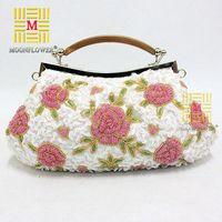 2014 Free Shipping Classical Evening Bag Beaded Handbag Bridesmaid Bag Chains Handbag Party Bags