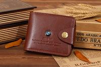 5pc/lot Hot sale Genuine Cow Leather  Credit Card Case Men Holder Car Cowhide Purse Pouch Women Bank Thin Wallet