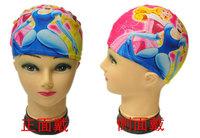 High Quality Cartoon Swimming Cap Children Printed Swimming Hat Colorful Bathing Cap