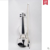 Free shipping Saphony SV02 practice manual upscale all-wood white violin beginner violin adult children