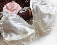 Wholesale ZQ-1B Underwire High Quality Luxury 100% Pure Silk Bra Thin Big Bra Middle&Old Women Fashion Underwear Free Shipping