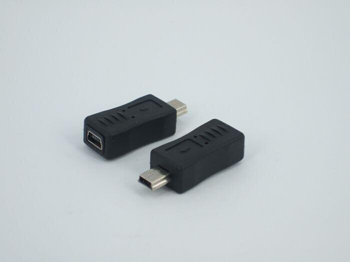 By DHL 300pcs/lot USB 2.0 Convertors Mini USB Male to Mini Female Convertors USB 2.0 Adapters Free Shipping(China (Mainland))