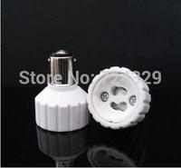 lamp holder New LED Bulb converter BA15D to GU10 extend base Lamp Adapter converters 60PCS/Lot free shipping