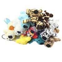 D19 hot-selling newest 1pc mignon Chien Pet pratique Siffleur Chew Jouer Squeaky Toy Peluche sonore  shipping