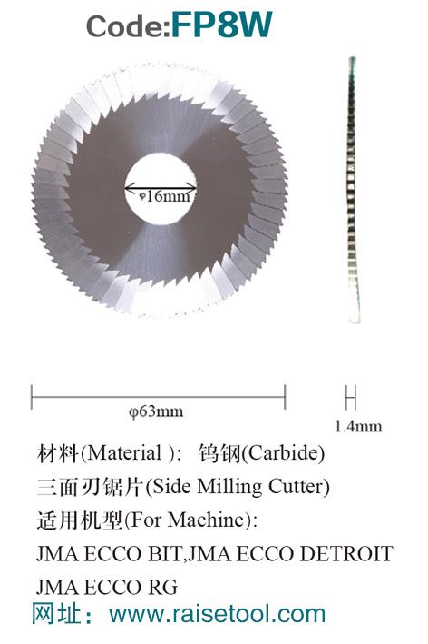 CNC комплект fp8w карбида стороне и