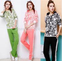 New arrival camouflage fashion design women classic clothing set autumn tracksuits sport suit jogging suits for woman