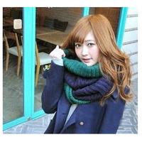 Women New Fashion Knitted Adult Cotton Woolen Patchwork Unisex AutumnWinter Scarves Scarf Wraps Envoltorios HijabBufandas 1SC886