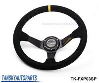 """Tansky - """" SP Car steering wheel refires steering wheel 14"""" 350MM automobile race steering wheel vehienlar -1"""" TK-FXP03SP"""