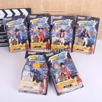 Dragon Ball Z Figures KAI Sun Goku Trunks PVC Action Figures Anime Collectible Model Toys 6pcs/set