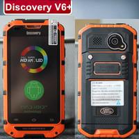 Original Discovery V6+ WCDMA IP68 Waterproof 4.0'' 800X480 pixels MTK6572 Dual Core 512MB 4GB 5.0MP WCDMA Cestina Slovka Russia