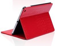 New Fashion High Quality Slim Crocodile Leather Case for ipad air 2 ipad6 Smart Cover For apple ipad air2 ipad 6 Free Shipping