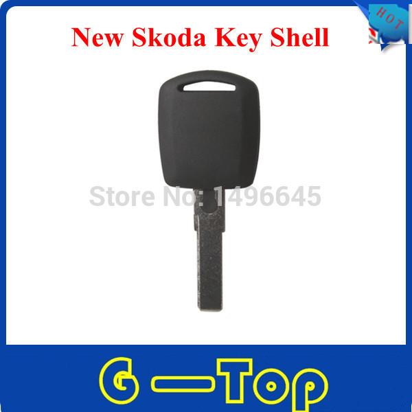 Top quality lowest price+Free Shipping New Skoda Key Shell 10pcs/lot(China (Mainland))
