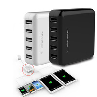 New Arrivel 5 ports 40W USB Charger ,Desktop USB Smart Charger for iPad iPhone Galaxy HTC and Other Smart Phone
