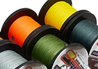Free shipping, 500m/piece,  fishing  PE line,braided wrie,  4 strand,  0.2#-12#