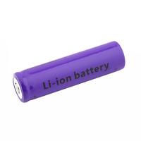 1 PCS Rechargeable Li-ion Battery 4901mAh 18650 3.7V Purple For Flashlight Torch