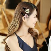 France Luxe 6pcs  Fashion  cheaper hair  clips  headwear  grils   Luxury Hair Accessories
