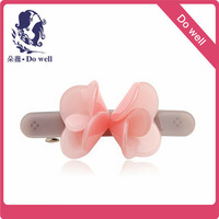 France Luxe 2014 Flower  style  baby  hair  accessories  made in  cellulose acetate material Luxury Hair Accessories