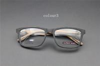 Vintage Acetate prescription eyeglasses Frame Full Rim Cat Eye for man women fashion optical myopia  frame eyewear Wooden  60086