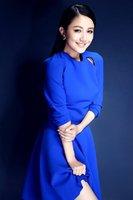 2014 fashion new slim Women Autumn spring New Celeb Fit Long Sleeve Flare Long Sleeve Blue Dress big peplum long openning