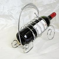 Wholesale wine frame, wrought iron wine frame Metal crafts Silver frame, wrought iron wire wine wine TYJJ - 002