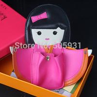 Cute Kimono Doll Coin Purse Popular Key Chain