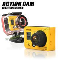 E-prance F990A Professional Mini Action Camera 1080P Waterproof Full HD Novatek 96650 Underwater 60m Sport Diving Camera HDR T20