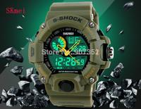 Hot Original SKmei Men Outdoor climbing sports watches 50M Waterproof swim Fashion LED Digital Quartz Watch Free Shipping