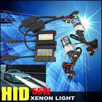 55w slim ballast bi xenon bulb h1 h3 h7 h8 h9 h10 h11 9005 9006 3000k 4300K 6000k 8000k 12000k 12v Hid Bixenon Conversion Kits