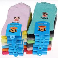 10 Pairs  Women Woman Girls Lady Winter Cotton Crew Socks Casual Socks Mix Colors Free Shipping