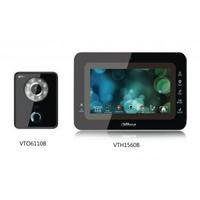 High quality Video Door Phone:VTKB-VTO6110B-VTH1560B Color 7-inch TFT LCD
