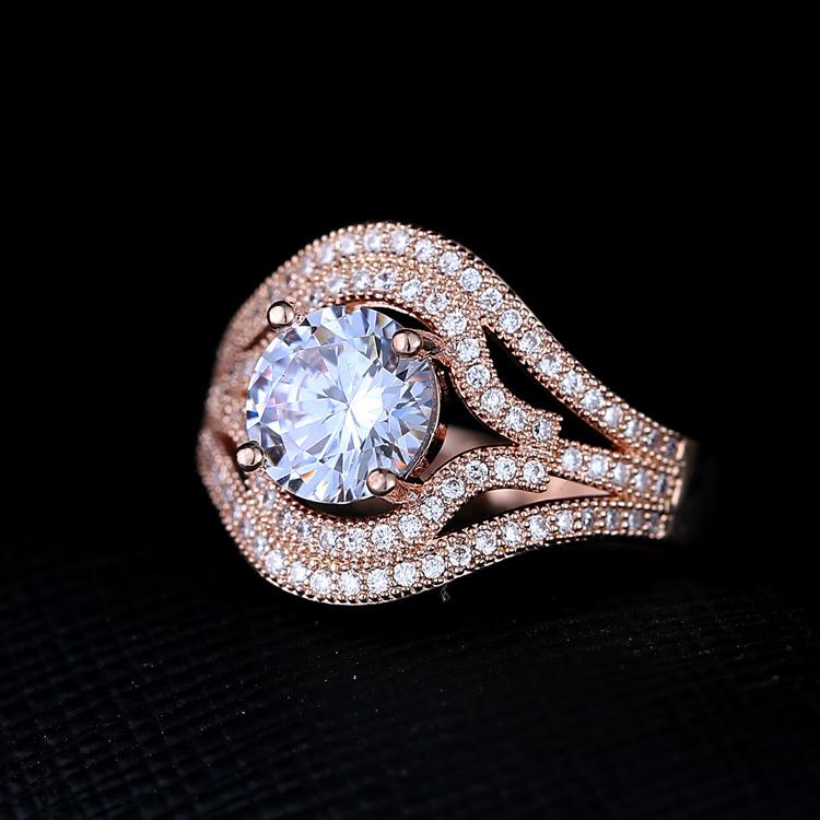 Bowknot Ring Diamond Bowknot Ring One