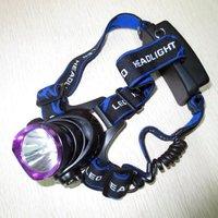 New Super Bright LED Headlamp Headlight 5000 Lumen 3X CREE XML T6 LED Head Light Lamp + Charger