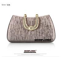 European And American Fashion PU Evening Bag Banquet Bag Diamond Handbag Neew-day17 Free Shipping