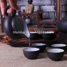 Free shipping chinese kung fu tea set top quality Yixing purple clay tea pot reasonable price