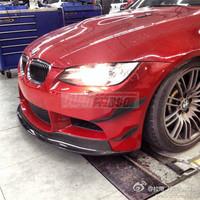 Carbon Fiber Front Bumper Splitter Canards For  09-13 BMW M3 E90/E92/E93 KARZTEC Style Canards