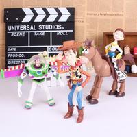 Toy Story 3 Figures Woody Buzz Lightyear Jessie PVC Action Figures Toys Dolls Kids Toys 4pcs/set