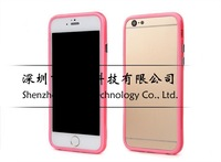 """Soft TPU Bumper Frame Case Cover Side Protection for iPhone 6 4.7 inch Cases for iPhone 6 Plus 5.5"""" Skin Phone Shell 10pcs/lot"""